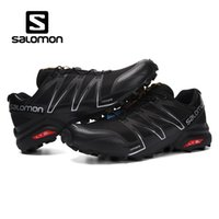 2018 New Salomon Speed ​​Cross 3 4 CS Scarpe da corsa di design da uomo Nero Bianco Rosso Blu Moda uomo da jogging Outdoor Sport sneakers 40-46