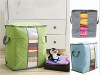 의류 담요 베개 부드러운 및 통기성이 아닌 직물에 대 한 저장소 가방 새로운 PackFlexible 스토리지 가방 토트 C163