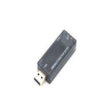 Voltímetro Digital USB Carregador de Banco De Potência Tester Medidor Dispay Tensão Corrente Voltimetro e USB resistor de carga de descarga