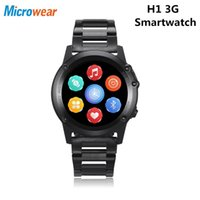 Microwear H1 3G Smartwatch Phone Android 4. 4 Smart Watch Men...