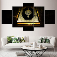 Modern Prints Wall Art Posters Modular Canvas Islam Pictures...