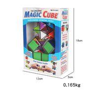 Star Cube Transformer Puzzle Géométrique Cube Magique Cube Infini Détachable Cube 2IN1 Infinity Cubes Fidget Cubes Nouveauté EDC Décompression