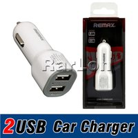 Remax Dual 2Ports 2. 1A USB- Powered Intelligent Car Chargers ...