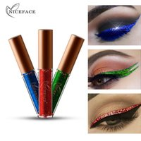 NEW Glitter Eyeliner Waterproof Eye Liner Pencils Long Lasti...