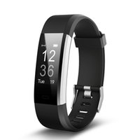 ID115HR PLUS Smart Bracelet Sport Bande De Fréquence Cardiaque Fitness Tracker Bracelet Intelligent Smart Watch pour IOS Android