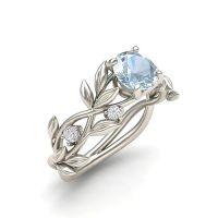 20PCS Hot Flowers Anelli in lega con dita per le donne Accessori per gioielli da sposa vintage in cristallo con anello centrale in cristallo argento vintage