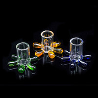 Colourful Carb Cap stand Smoke accessory glass holder for ca...