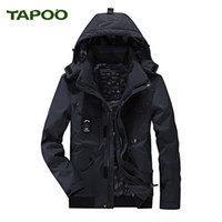Tapoo Mens Polyester Winter Jackets Thick Casual Outerwear W...