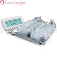 Desktop Mode Lymphdrainage Körper Slim Gewichtsverlust Massage Beliebte Pressotherapie Maschine mit Sauna Anzug Decke