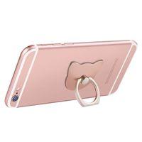 2 шт кошка уха Moblile телефон палец кольцо держатель милый стенд зарядки поддержка мобильного телефона универсальный кронштейн для Apple Iphone 8 X