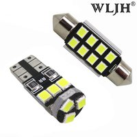 WLJH 17x Canbus Car LED Light Interior Lighting Dome Map Foo...