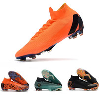 2018 top quality mens soccer cleats Mercurial Superfly VI 36...