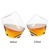 2pcs set Wine Decanter Tumbler Crystal glass Red Wine Whiske...