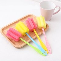 Long Handle Easy Cup Brush Soft Sponge Cleaner Cleaning Brus...