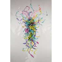 Multi Color Handmade Blown Murano Glass Chandelier Chihuly S...