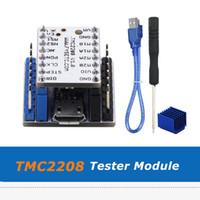 4pcs / lot 3D 프린터 부품 TMC2208 스테퍼 모터 드라이버 + USB 직렬 포트 테스터 TMC2208 어댑터 모듈
