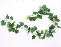 Imitation glue, ivy, grape vine, leaf, rattan, plant decoration, leaf vine, green leaf vine, simulation leaf L092
