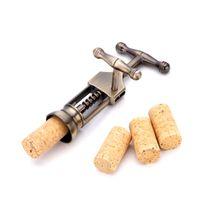 High end цинковый сплав многофункциональный в штучной упаковке вина открывалка для бутылок бронзовые вина открывалка для бутылок кухонные инструменты Оптовая