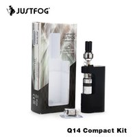 Original Justfog Q14 Compact Kit with 900mah Built- in Batter...