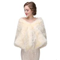 Cms09 pelliccia da sposa stolando vintage stolando feux pelliccia di pelliccia invernale cappotto da sposa da sposa scialle avvolgente involucro, stola nuziale, stola nuziale, cape di pelliccia faux