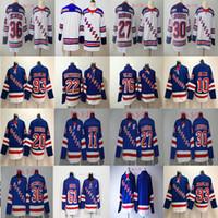 2018 New York Rangers Jersey 20 Chris Kreider 11 Mark Messier 61 Rick Nash  27 Ryan McDonagh 30 Henrik Lundqvist Hockey Jerseys Cheap f52e19858