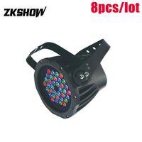80 % 할인 Controladora DJ RGB UV 36 * 1W 3W 방수 LED 파 빛 DMX512 DJ 디스코 파티 웨딩 무대 조명 장비 야외