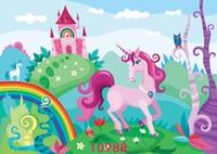 Sfondi fotografici Tessuto vinilico floreale Fondali photocall per bambini Bambino appena nato per Photo Studios Birthday Party parete 10988
