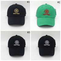 a101d45c Wholesale saints caps for sale - Group buy Saint Pablo Baseball Hats  Outdoor Sports Snapbacks Letter