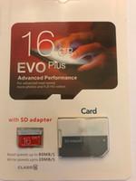 2020 Hot Evo Plus 100% Prawdziwa Oryginalna pełna pojemność 2 GB 4 GB 8 GB 16 GB 32 GB 64 GB Klasa 10 Micro TF Karta pamięci Micro TF z opakowaniem detalicznym SD