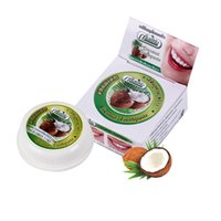 10g / 25g Dentifrice Naturel Herbe De Noix De Coco Clou De Menthe Arôme Dent Blanchiment Des Dents Dentifrice Kit Dentifrice Supprimer Tache Teeth Cleaning