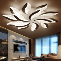 New Design Acrylic Modern Led Ceiling Lights For Living Stud...