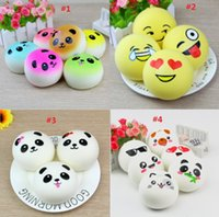 10cm simulation Squishy expression bread slow rebound decora...