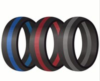 Neue Stripe Vape Band Silicon Ecig Batterie Rutsch Rutschkuppel Silikon Ring 22mm 20mm für E-Zigaretten Cig Mechanische Mods Patronen RDA Dampf Zerstäuber