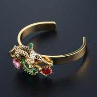 whole saleFrench Les Nereides Luxury Noble Leopard Gem Flowe...
