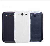 D'origine Pour Samsung Galaxy S3 S4 S5 S6 S7 S6 Bord S7 Bord S8 S8P S9 + ack Logement Housse Pour Samsung S3 i9300 Batterie Couvercle de Remplacement