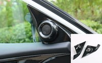 For Honda Civic 2016 2017 ABS Carbon Fiber Style Car Door St...