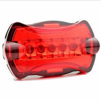 2017 Red Bicycle led taillights Bike Cycling 5 Led Tail Rear...