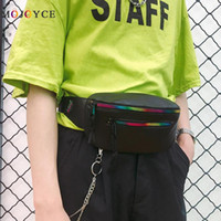 Unisex PU Leather Fanny Pack Women Men Waist Pack Casual Sli...