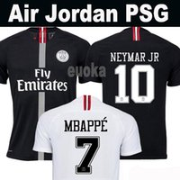 Top Tailândia qualidade AIR PSG JORDAN 3RD third camiseta de fútbol 2019 camisa Paris Saint Germain NEYMAR JR MBAPPE soccer jerseys camisa cavani Survetement futebol kit CHAMPIONS camisa de futebol