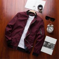 Бесплатная доставка бомбардировщик сплошной куртка мужчины повседневная весенняя спортивная одежда мотоцикл мужские куртки для мужских пальто плюс размер 4xL