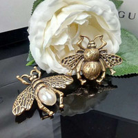 Unisex Luxury Designer Men Women Pins Brooches Gold Plated B...