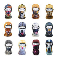 Winter Face mask scarf 3D Animal Outdoor Ski Masks Bike Cyli...