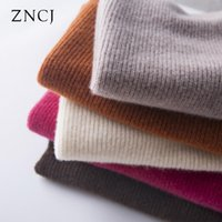 100% Wool Knitted Women`s Sweater Pullovers Winter Cansual L...