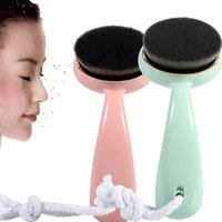 New Style Long Handle Soft Hair Skin Care Face Cleaning Brus...