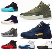 Barato 12 zapatos de baloncesto de diseñador Hombres Mujeres 12s XII  Francés Gamma Gym Juego de b363562c93457