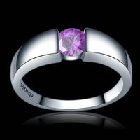 Charming Zircon female Wedding ring pink red purple green bl...