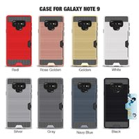 Wire- insert Card Case For Samsung Note9 Note8 Galasy S4 Gala...