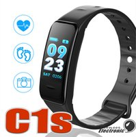 C1S Fitness Trackers Smart Bracelet Activity Heart Rate Bloo...