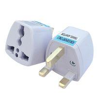 Universal EU US AU till UK AC Travel Power Plug Charger Adapter Converter Travel Fast Shipping