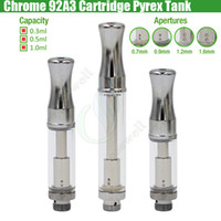 Pyrex 92A3 Stainless steel BUD Touch CE3 A3 Cartridges Vapor...